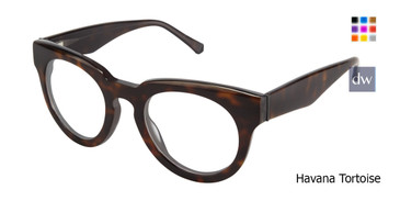 Havana Tortoise Kate Yong For Tura K120 Eyeglasses - Teenager.