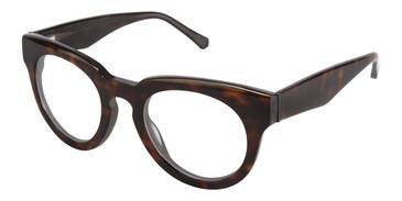 Havana Tortoise Kate Yong For Tura K120 Eyeglasses - Teenager.