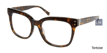 Tortoise Kate Yong For Tura K125 Eyeglasses.