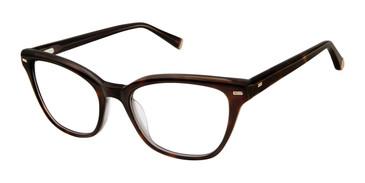 Havana Tortoise Kate Yong For Tura K132 Eyeglasses.