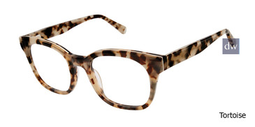Tortoise Kate Yong For Tura K134 Eyeglasses - Teenager.