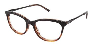 Black/Tortoise Kate Yong For Tura K301 Eyeglasses.