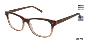 Brown Kate Yong For Tura K312 Eyeglasses.