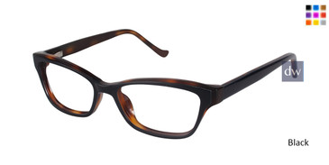Black Tura R213 Eyeglasses.
