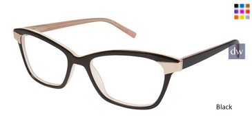 Black Tura R546 Eyeglasses.