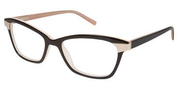 Black Tura R546 Eyeglasses.