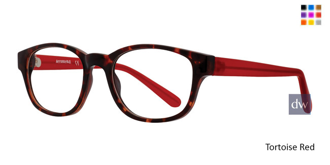 Tortoise Red Affordable Designs Adeline Eyeglasses