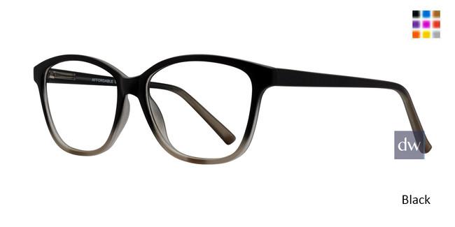 Black Affordable Designs Amelia Eyeglasses