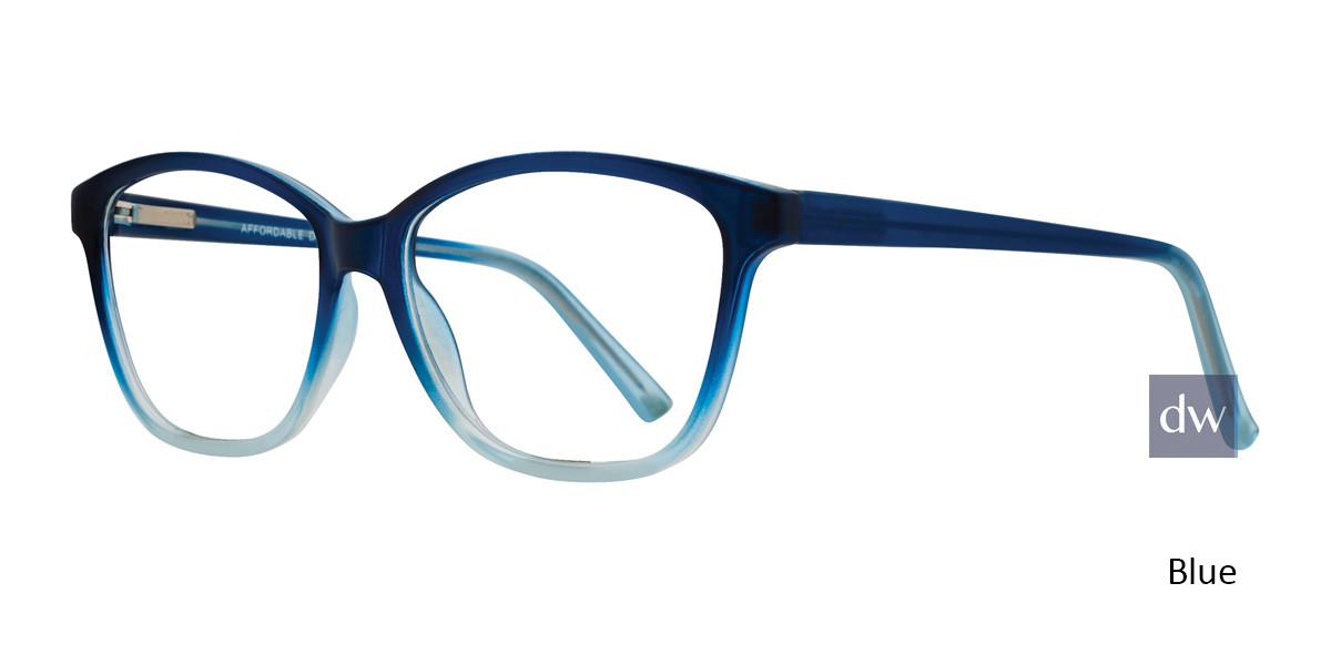 Blue Affordable Designs Amelia Eyeglasses