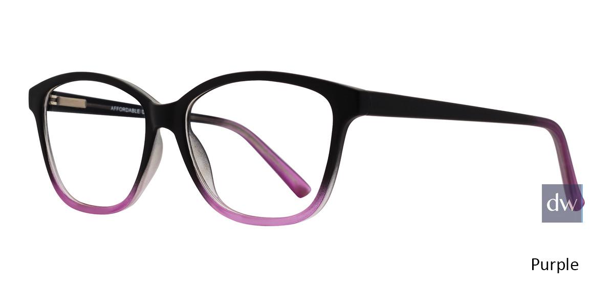 Purple Affordable Designs Amelia Eyeglasses