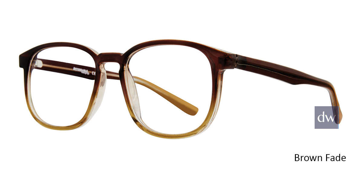Brown Fade Affordable Designs Campbell Eyeglasses