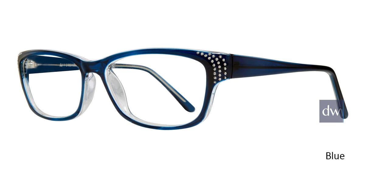 Blue Affordable Designs Celia Eyeglasses