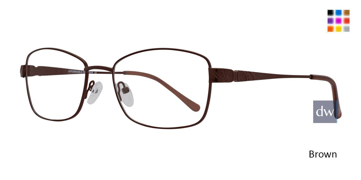 Brown Affordable Designs Cyd Eyeglasses