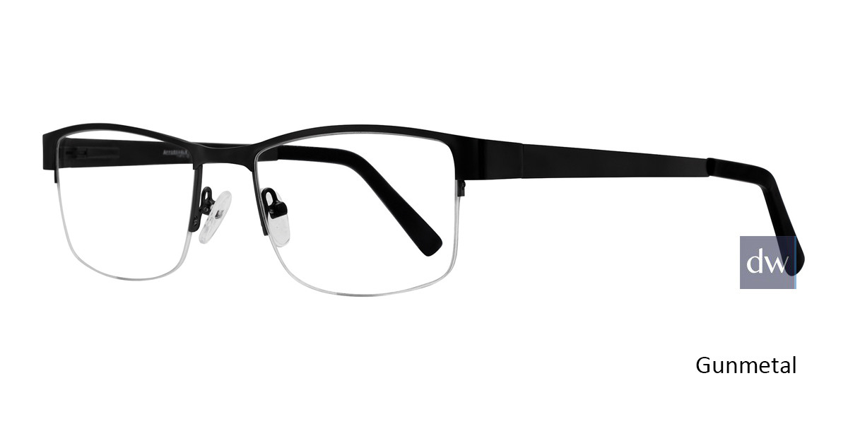 Gunmetal Affordable Designs Dodge Eyeglasses