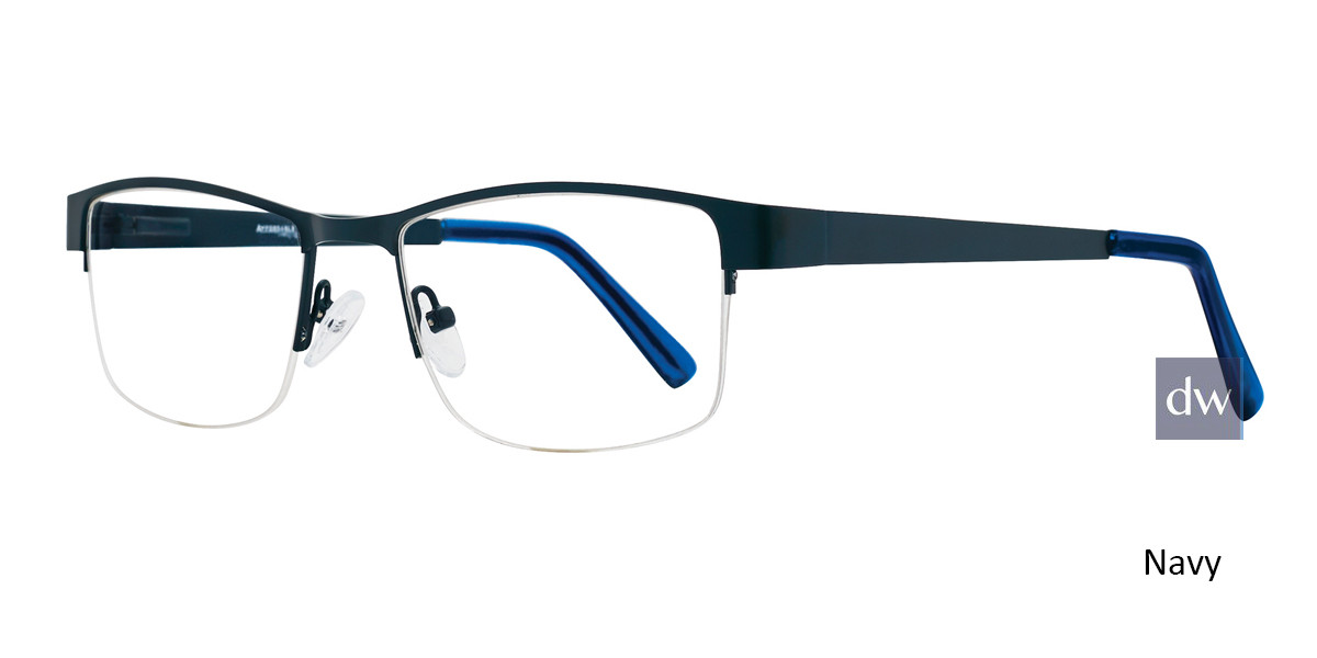 Navy Affordable Designs Dodge Eyeglasses