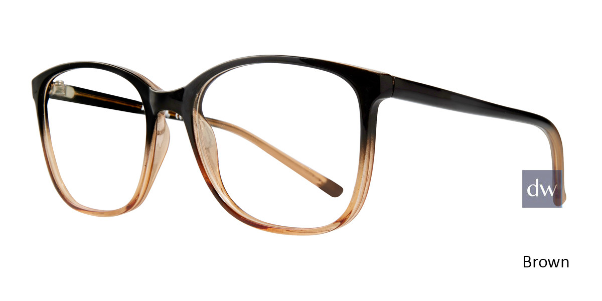 Brown Affordable Designs Fay Eyeglasses