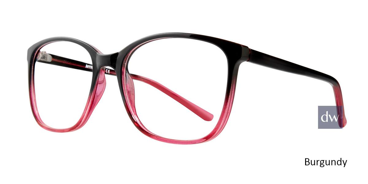 Burgundy Affordable Designs Fay Eyeglasses