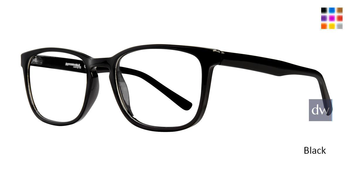 Black Affordable Designs Harry Eyeglasses