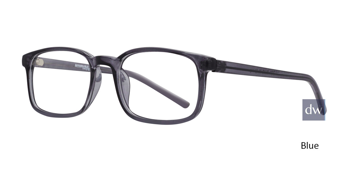 Blue Affordable Designs Hayden Eyeglasses