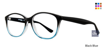 4f6cb0b89b Black Blue Affordable Designs Heather Eyeglasses
