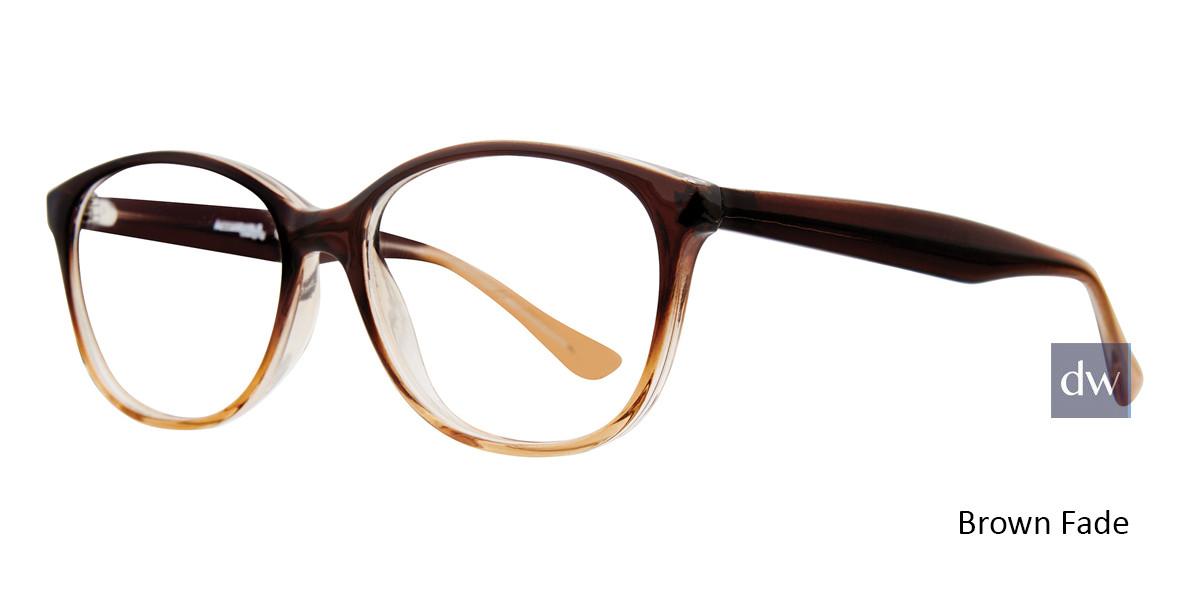 Brown Fade Affordable Designs Heather Eyeglasses