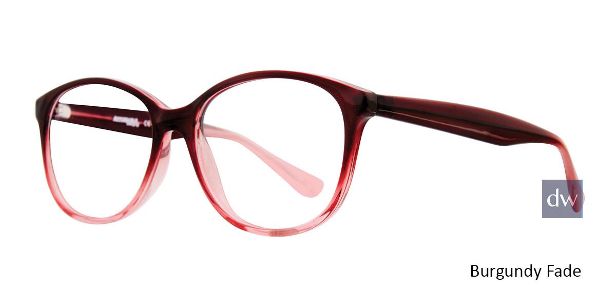 Burgundy Fade Affordable Designs Heather Eyeglasses