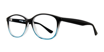 Black Blue Affordable Designs Heather Eyeglasses