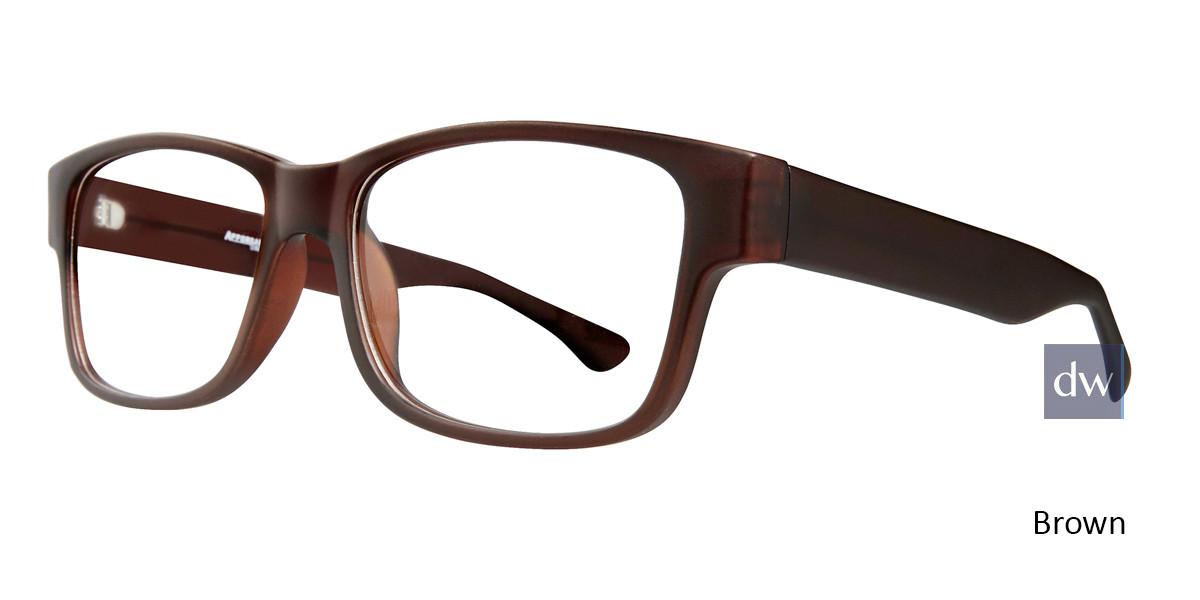 Brown Affordable Designs Ike Eyeglasses