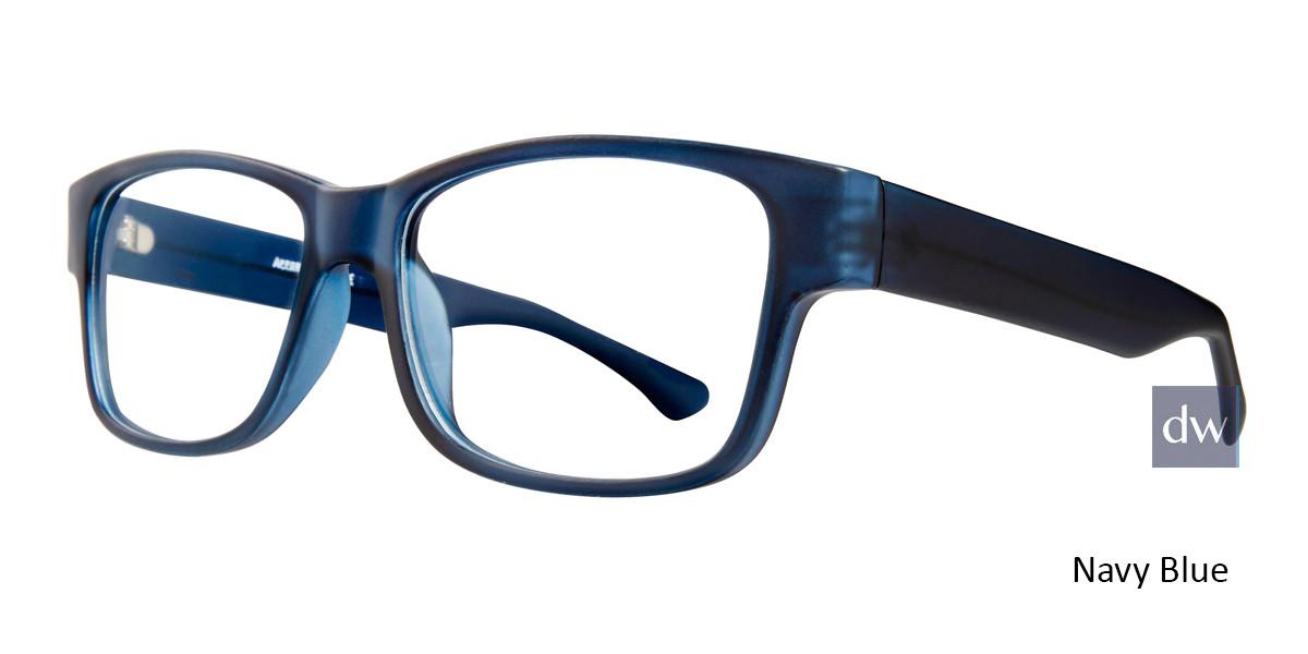 Navy Blue Affordable Designs Ike Eyeglasses