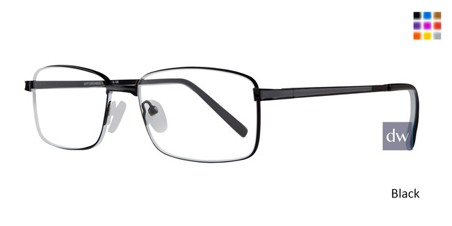 Black Affordable Designs Jeets Eyeglasses