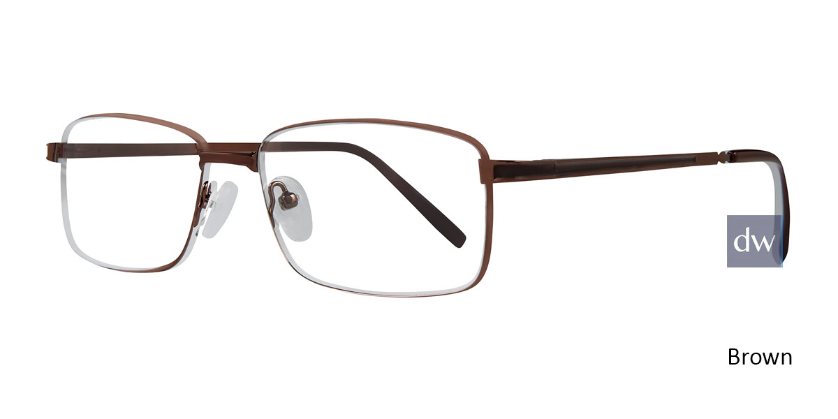 Brown Affordable Designs Jeets Eyeglasses