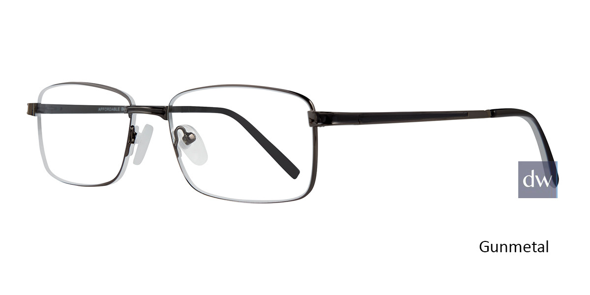 Gunmetal Affordable Designs Jeets Eyeglasses