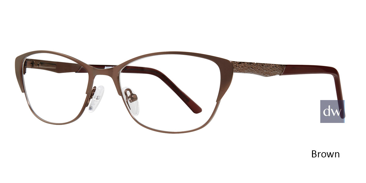 Brown Affordable Designs Jenelle Eyeglasses