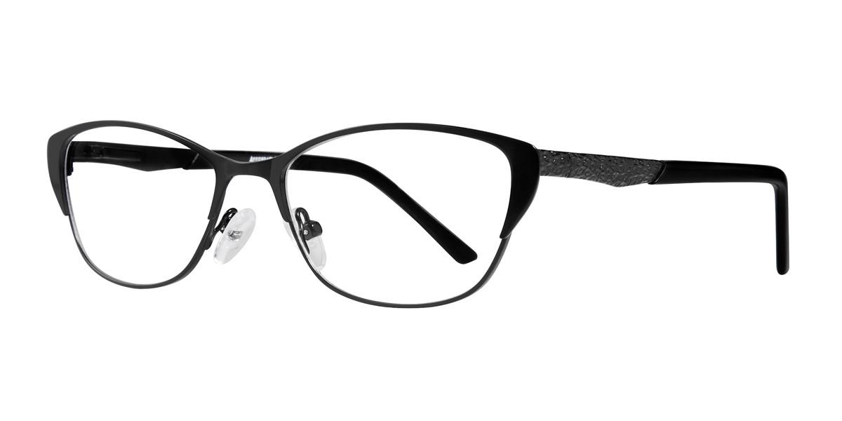 Black Affordable Designs Jenelle Eyeglasses