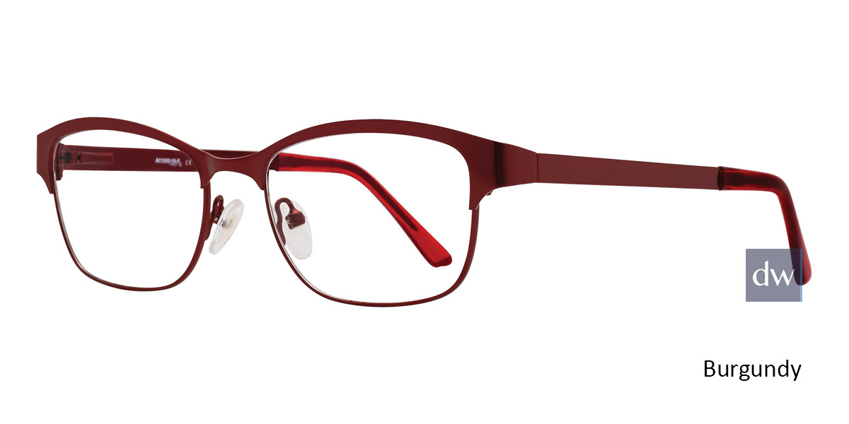 Burgundy Affordable Designs Kia Eyeglasses