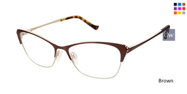 Brown Tura R561 Eyeglasses.