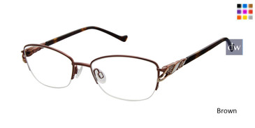 Brown Tura R564 Eyeglasses.