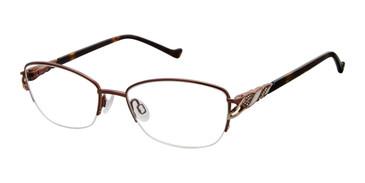 Brown Tura R564 Eyeglasses.