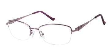 Lilac Tura R906 Eyeglasses.