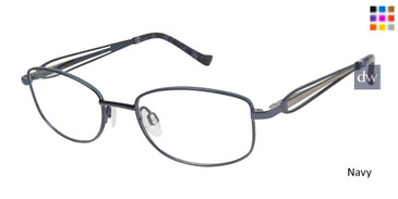 Navy Tura R917 Eyeglasses - Teenager.