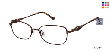 Brown Tura R918 Eyeglasses.