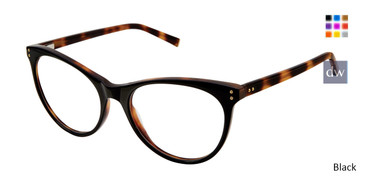 Black Kate Yong For Tura K314 Eyeglasses.