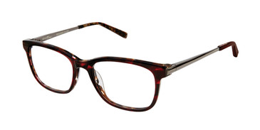 Red Kate Young For Tura K315 Eyeglasses.