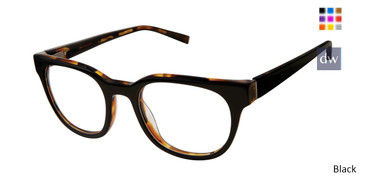 Black Kate Yong For Tura K317 Eyeglasses - Teenegar.