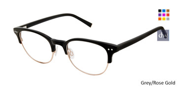 Grey/Rose Gold Kate Yong For Tura K318 Eyeglasses - Teenager.