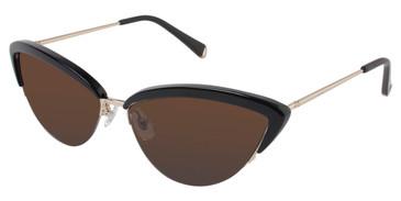 Black Kate Yong For Tura K504 Sunglasses.