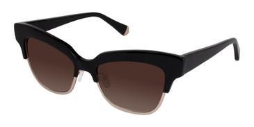 Black Kate Yong For Tura K511 Sunglasses.
