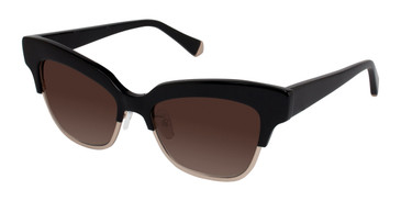 Black Kate Young For Tura K511 Sunglasses.