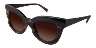 Black/Tortoise Kate Yong For Tura K514 Sunglasses.