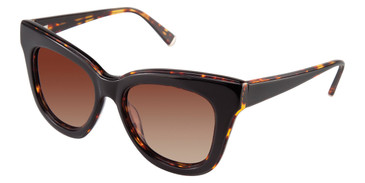 Black Kate Young For Tura K518 Sunglasses.